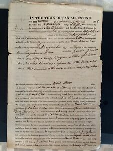 Republic of Texas land transfer certificate Zavalla San Augustine Alamo 1835