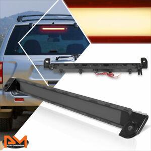 For 01-04 Pathfinder/Infiniti QX4 3D LED Bar Third 3RD Tail Brake Light Smoked