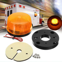 Warning Flash Light Amber Car Truck Beacon Strobe Emergency LED Lamp 12V 15 LED