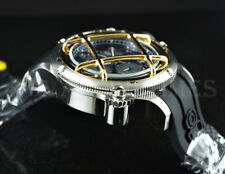 Invicta 52mm Russian Diver NAUTILUS Blue Caged Dial Swiss Movt Chronograph Watch