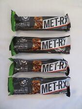 (4) MET-Rx Big 100 Meal Replacement Bars Crispy Apple Pie 3.52 Oz Each @6