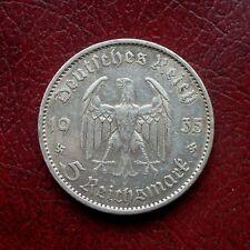 Alemania 1935 A Plata 5 marcas