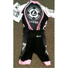 Luigino Inline Skate Skinsuit Black/Pink XXXX-Small