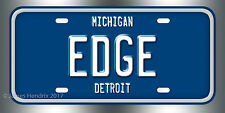 Ford Edge License Plate Vanity Auto Tag