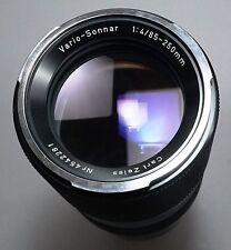 Contarex Camera Carl Zeiss Vario Sonnar 85-250/4 Zoom Lens