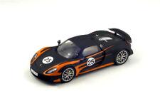SPARK 1/18 Porsche 918 Spyder Weissach Package Matte Black / Orange RESIN 18S170