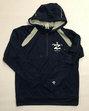 New Orleans Zephyrs Team Issued Russell Athletic 1/2 Zip Hooded Sweatshirt Large