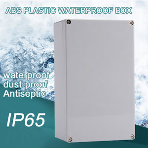 IP65 Waterproof Electronic Junction Box Enclosure Cases Outdoor Terminal Cable