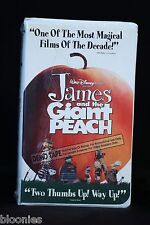 Disney James and the Giant Peach PROMO VHS Video Demo Tape NEW & SEALED