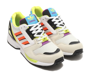 adidas ZX 8000 CLEAR BROWN WHITE 21FW-I  h01399 Men US 7 - 11
