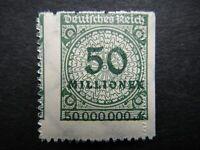 Germany 1923 ERROR Stamps MNH Wmk Network Deutsches Reich German Deutschland