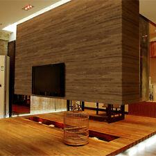 Realistic Wood Optic Paneling Timber Plank Wood Textured Wallpaper Sample KZ0704