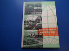 DDR Lehrbuch-Schulbuch-Ökonomische Geographie UDSSR CSSR VR Polen top Zustand