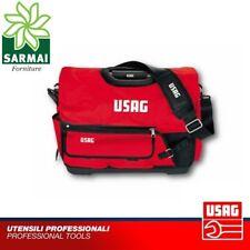 USAG 007 V zaino borsa in stoffa portautensili attrezzi fondo in plastica