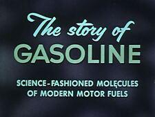 Gasoline Oil Production Drilling Transportation Vintage 1930s-1950s Films 2 DVDs