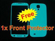 Samsung Galaxy S4 * Green BLUE * Glow in the Dark Body Decal Skin sticker