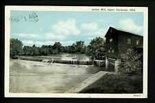 Mining Industry postcard Indian Mill, Upper Sandusky, Ohio OH Vintage