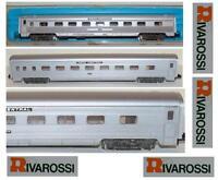 RIVAROSSI-ATLAS 2666 VAGONE COACH CAR PENN CENTRAL USA Nr.1008 LUCI BOX SCALA-N