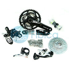 New Shimano Deore XT M780 3x10-speed Groupset Group set M770 upgrade Black