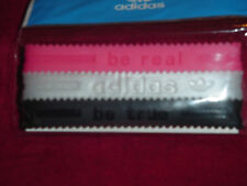 Adidas Originals Baller id Bands Wristbands Bracelets Black Pearl Red 3 Pack