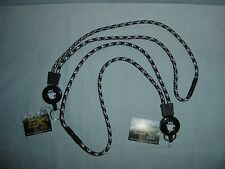Two EK Sports  Blue/White colored Retact-A-Cat Lanyard - retractable