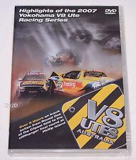 Yokohama V8 Ute Racing Series 2007 Season Highlights DVD New