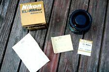 NIKON EL-NIKKOR 50mm F/4 LENS 823728 ENLARGING 1:4 EXCELLENT IN BOX CONDITION