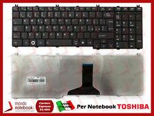 Toshiba V000211110 Tastiera Notebook - Nera
