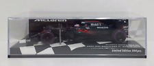 MINICHAMPS 1/43 JENSON BUTTON MCLAREN HONDA F1 MP4-31 AERO TEST BARCELLONA 2016