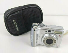 Canon PowerShot A550 7.1MP 4x Optical Zoom Lens P&S Camera w/ Case TESTED