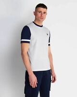 Lyle and Scott Mens Contrast Sleeve T-Shirt