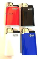 Djeep large lighter Regular colors 4 Pcs