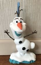 Disney On Ice Frozen OLAF  Plastic Mug/Cup with Lid & Straw