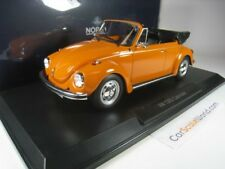 VOLKSWAGEN 1303 CONVERTIBLE KAFER BEETLE 1973 1/18 NOREV (ORANGE)