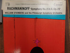 SYMPHONY No 2 in E, Op 27 RACHMANINOFF 33 RPM EX+ 110915 TLJ