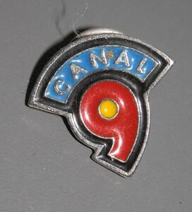 PIN'S -CANAL 9