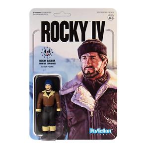 Rocky Balboa Winter Training Sylvester Stallone 3 3/4 Inch ReAction Figur Super7