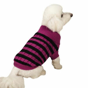 CLOSEOUT DOG SWEATER PET SWEATERS ZACK ZOEY EAST SIDE COLLECTION XS-XL