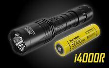 NITECORE i4000R 4400 Lumen USB-C Rechargeable Tactical Flashlight, LumenTac Case