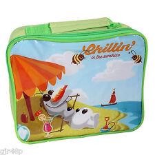 Disney Frozen Lunchbox Olaf Design Insulated School Lunch Bag Girls Boys