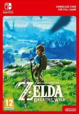 The Legend of Zelda: Breath of the wild -NINTENDO SWITCH | Lire La Description