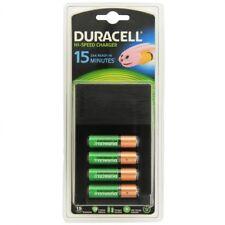 Cargadores de baterías y pilas