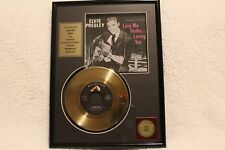 Elvis Presley Gold Record Love Me Tender Loving You 24kt Excellent Condition