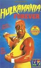 WWF  Hulk Hogan Hulkamania Forever 1990 ORIG VHS WWE Wrestling deutsche Version