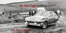 Russell Brookes VAUXHALL CHEVETTE HSR 2300 RAC Rally 1982 fotografia 2