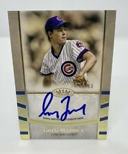 2021 Topps Tier 1 - Greg Maddux - Auto 45/50 - Chicago Cubs