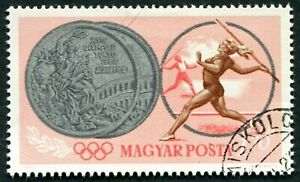 HUNGARY 1965 1fo70 SG2054 used NG Olympic Games Tokyo Hungarian Winners ##W54