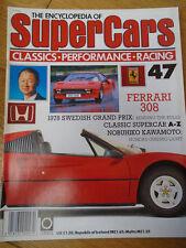 Encyclopedia of Super Cars 47 Ferrari 308, Kawamoto, 1978 Swedish GP