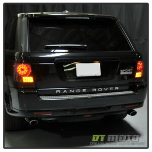 Smoked 06-09 Land Rover Range Rover Sport Led Perform Tail Lights Lamps