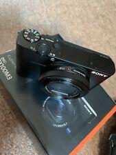 Sony DSC-RX100 III Digital Camera Extras in Original Box